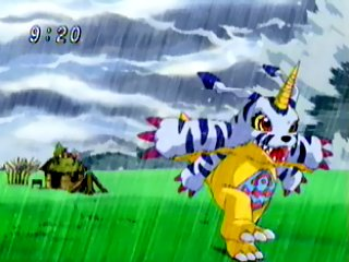 Tsunomon has digivolved to Gabumon